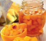 Варенье персиковое с лимоном