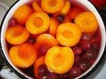Компот из сливы и абрикосов