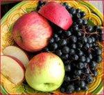 Варенье из яблок и черноплодной рябины